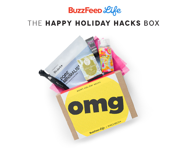 Love these beauty tips? BuzzFeed and Birchbox have teamed up to bring you this amazing Happy Holiday Hacks Box. Click here to learn more!