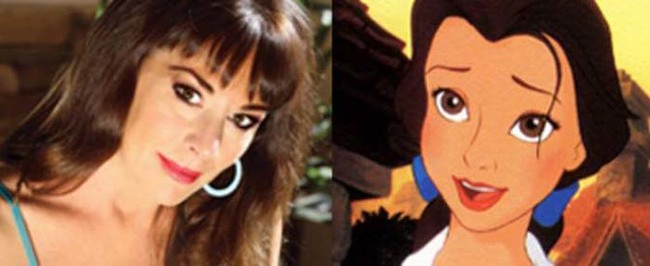 10.) Belle from Beauty and the Beast was based on Sherri Stoner, a Disney writer.