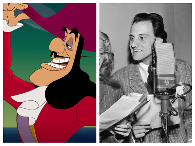 20.) Hook was based on Hans Conried, in both look and voice.