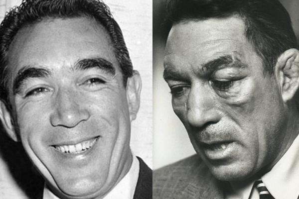 3.) Anthony Quinn in <em>Requiem For a Heavyweight</em> (1962)