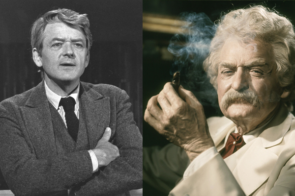 6.) Hal Holbrook in <em>Mark Twain Tonight!</em> (1967)
