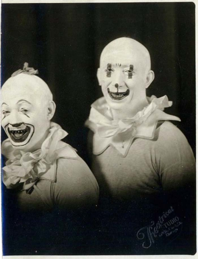 1.) Creepy clowns eyes, ready to get you.