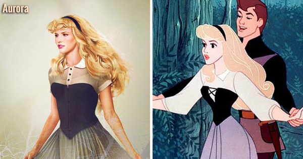 These Re-Imagined And Realistic Female Disney Characters Are Stunning.