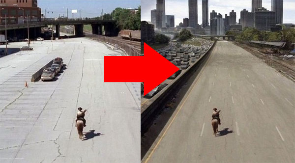 You'll Never Look At Movies The Same Way Again. These Before & After Shots Are Crazy.
