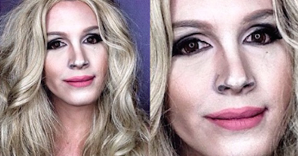 This Guy Transforms Himself Into Celebrities Using The Magic Of Makeup.