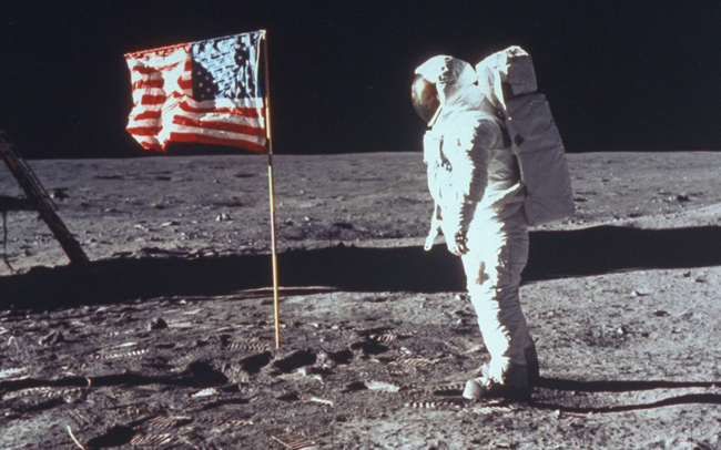 13.) 27% of Americans don't believe we landed on the moon.