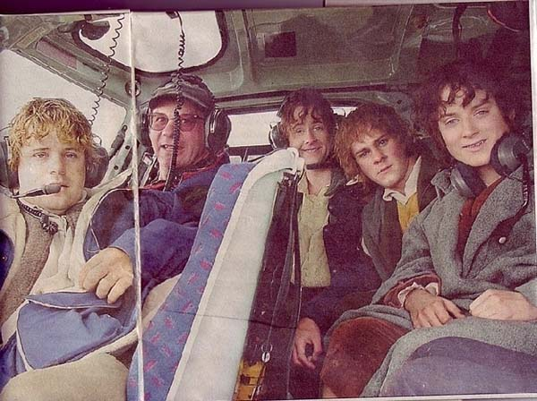 15.) Frodo's epic journey would have went so much faster in a helicopter.