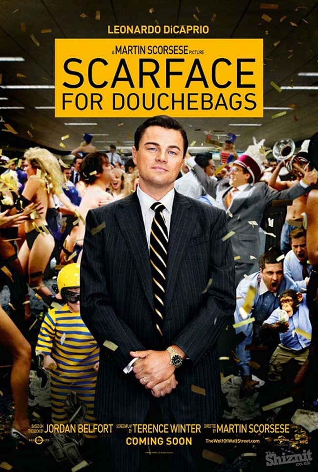 "2.) ""The Wolf of Wall Street."""