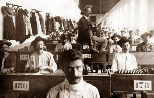 Lectors hired at factories would read to those who worked all day, providing entertainment.