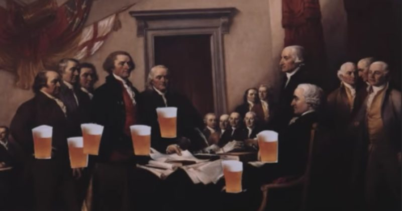 Our Founding Fathers Were Such Drunks, Franklin Put Together A Drunk Dictionary