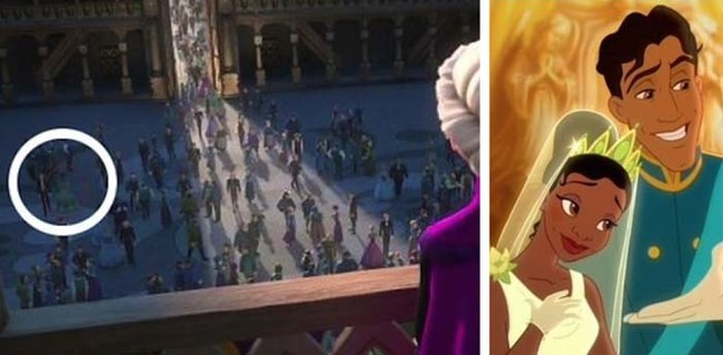 3.) And it seems Tiana and Naveen were in attendance as well.