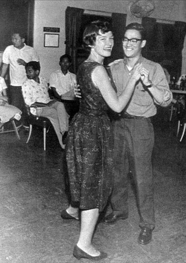 12.) Bruce Lee on the dance floor.