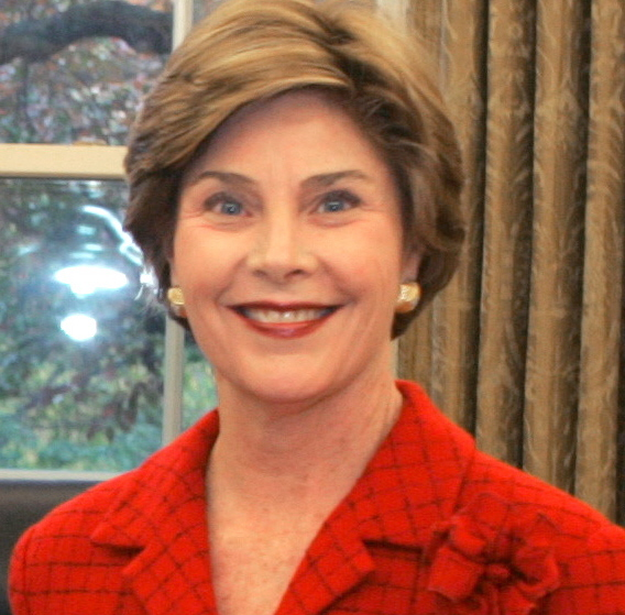 5. Laura Bush: While in high school, the former First Lady failed to stop at a stop sign and collided with another car, killing her classmate Michael Dutton Douglas.