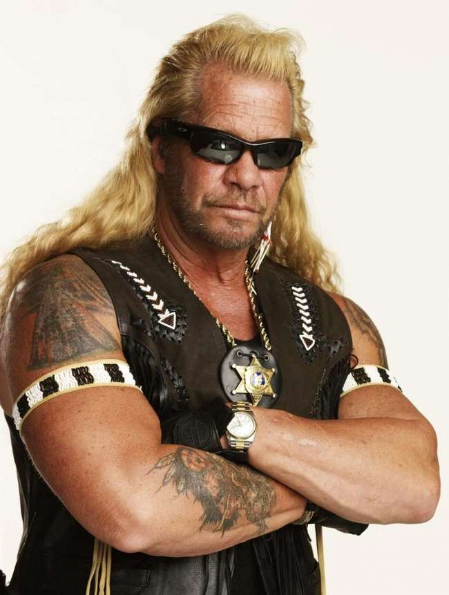 6. Dog the Bounty Hunter: He is banned from entering the UK following an incident in 1976 where he was present at the murder of Jerry Oliver for which he served 18-months of a 5-year sentence.