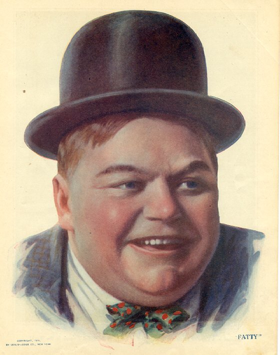 "9. Roscoe ""Fatty"" Arbuckle: A prominent actor in the silent film era, his career suffered after the death and apparent rape of a woman found in his hotel room."