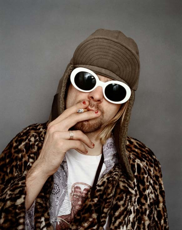 19.) These pictures of Kurt Cobain were taken by Jesse Frohman. Soon after, Kurt committed suicide in 1994.