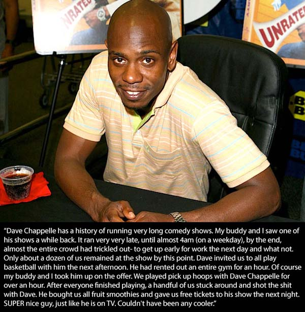 5.) Dave Chappelle