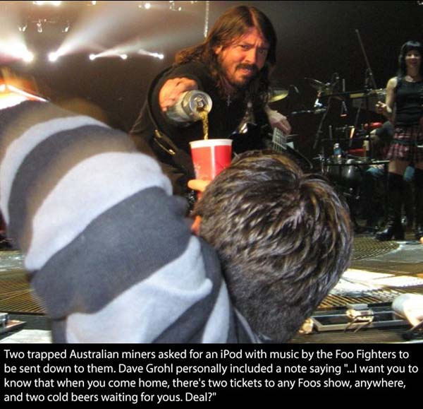 6.) Dave Grohl