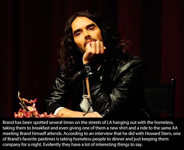 16.) Russell Brand