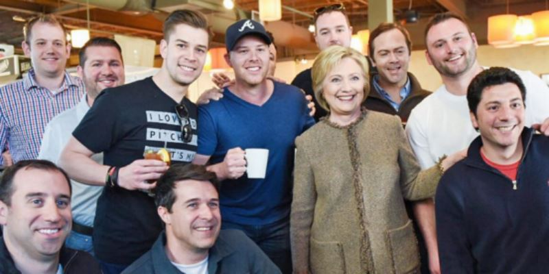WORST bachelor party entertainment of all time! [photo] #ImWithHer