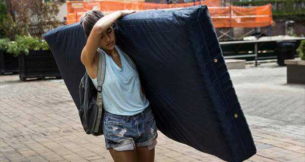 Huh: NPR identifies 'Mattress Girl' Emma Sulkowicz as a 'survivor' because she considers herself one