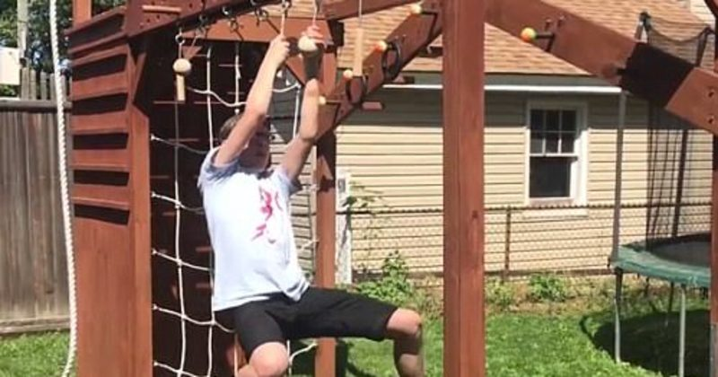 If You Love American Ninja Warrior, You'll Freak Out When You See What This Dad Made