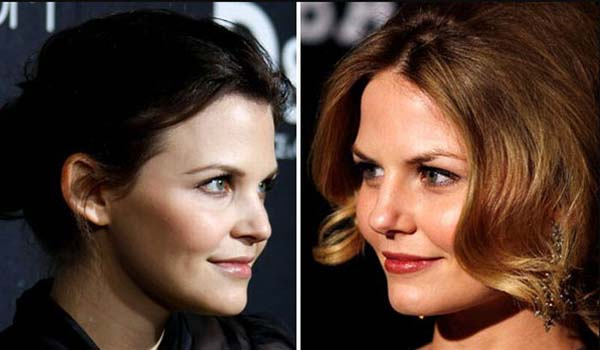 2.) Ginnifer Goodwin & Jennifer Morrison
