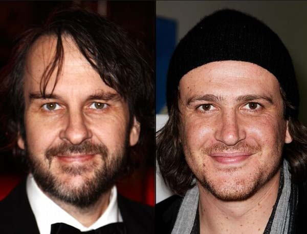 6.) Peter Jackson & Jason Segel