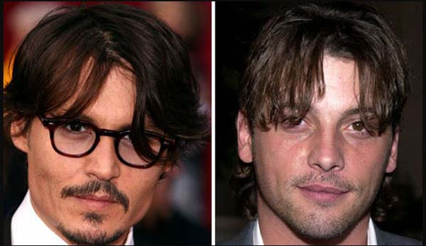 10.) Johnny Depp & Skeet Ulrich