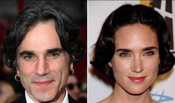 13.) Daniel Day Lewis & Jennifer Connelly