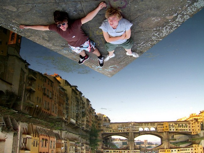 23.) Whoa. I don't even know how they managed that. - Florence, Italy