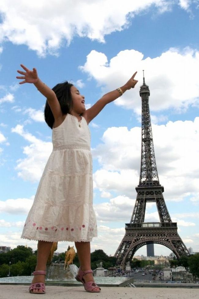 26.) On her tip toes. - Paris, France