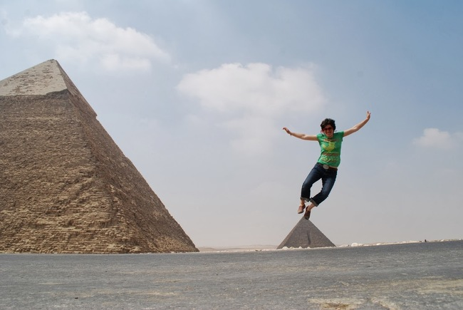 29.) Don't lose your balance. - Cairo, Egypt