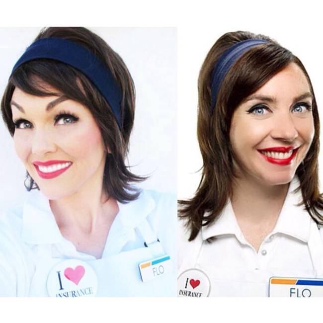 Flo from the Progressive Commercials
