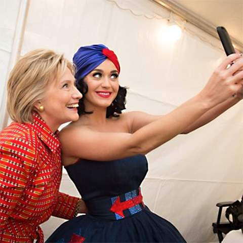 Young celebrities aren't selling millennials on Hillary Clinton