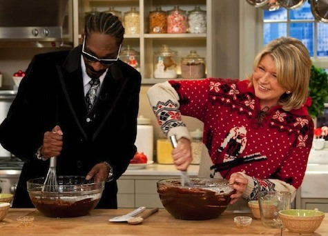 6. Snoop Dogg and Martha Stewart