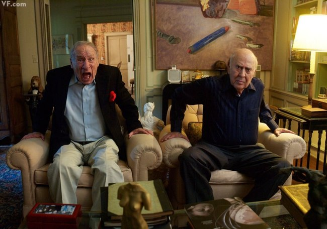 17. Mel Brooks and Carl Reiner