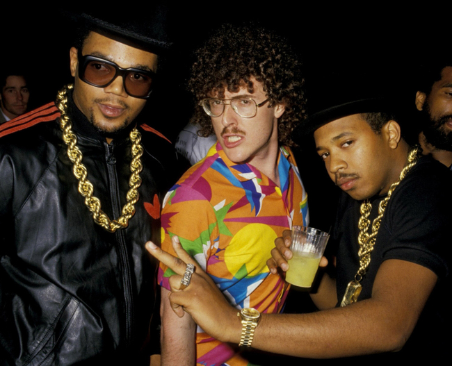 20. Run DMC and Weird Al