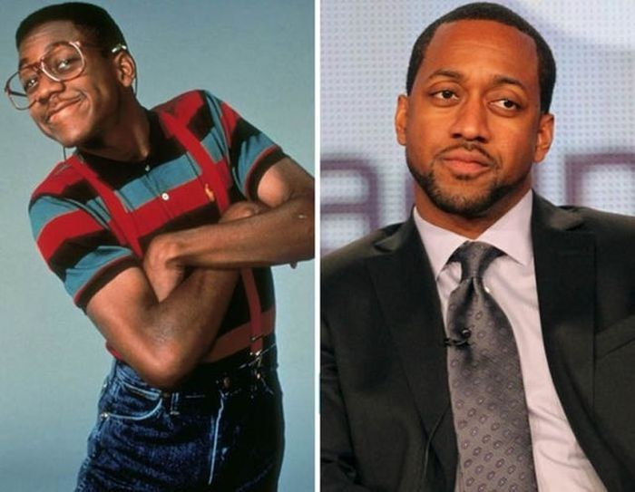 14.) Jaleel White - 1990 and now.